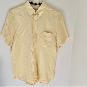 Burberry SS button down Shirt size M